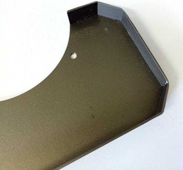 Telescope pier tray